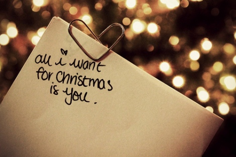 all i want for xmas is you