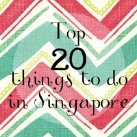 Top 20 things to do in Singapore