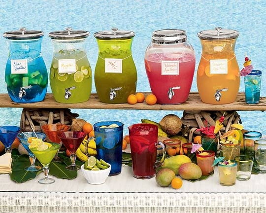 10 types of wedding bars theweddingvow for Summer drinks for party