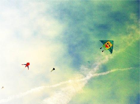 marina barrage-kite