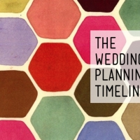 A wedding planning timeline