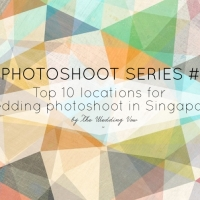 Photoshoot series #1: Top 10 Wedding Photoshoot locations in Singapore